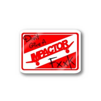 IMPACTORステッカー Stickers