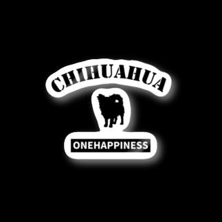 onehappinessのチワワ Stickers