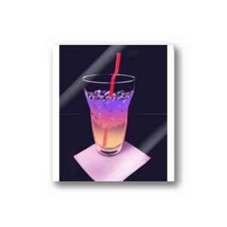 ノンアルコールの夜 Stickers