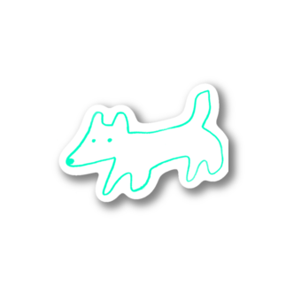 STORE(ストア)のinu-kitsune green Stickers