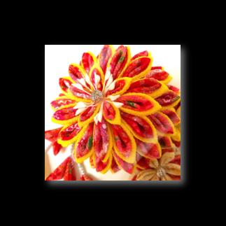 hana_sakiの赤花咲いた Stickers