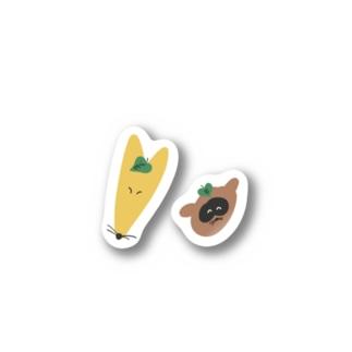 コンコンポンポコ Stickers