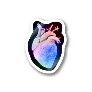 Heart カラフル Stickers