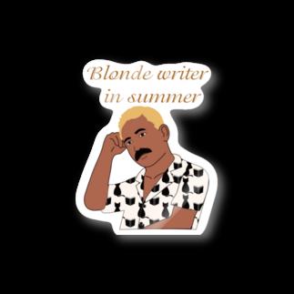 キッズモード某の夏の金髪の文豪 Stickers
