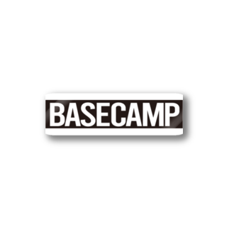 BASE-CAMPのBASE CAMP BLACK Stickers