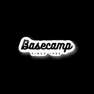 BASE-CAMPのBASE CAMP BLACK02 Stickers