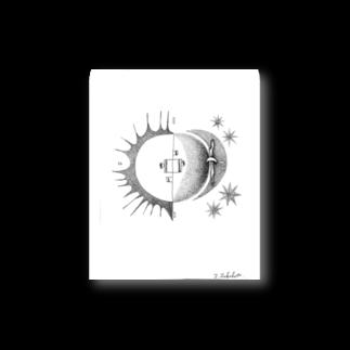 morinishiの太陽と月café Stickers