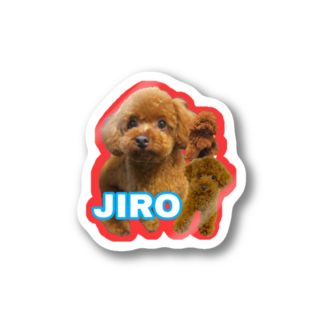 butagorillaのJIRO×3 Stickers