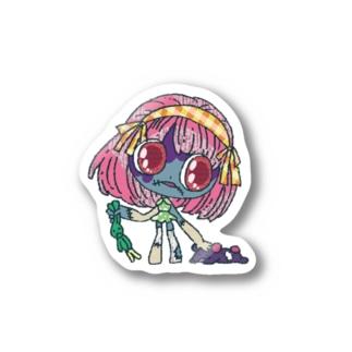 ぞんびちゃん Stickers