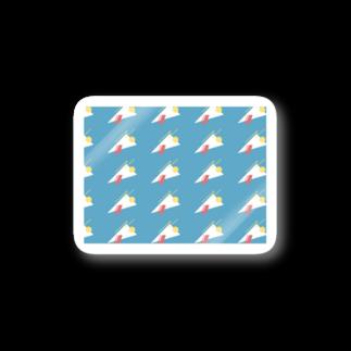 LATEのkarage crêpe Stickers