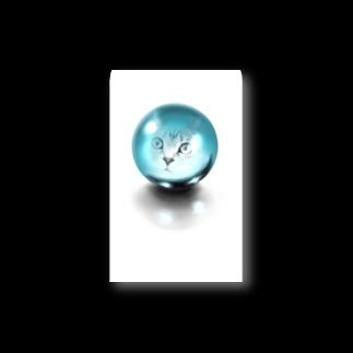 TAKUMの水晶と猫 Stickers
