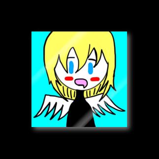市イラストグッズショップの天然天使ちゃん Stickers