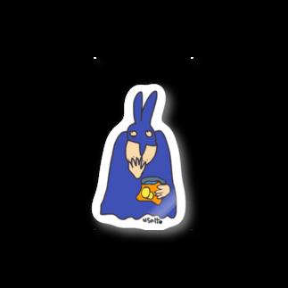 Bluelemonのうさっとマン ポテチ Stickers