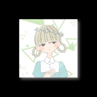 よしだゆの花かんむり Stickers