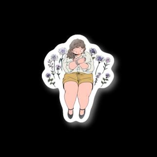 PlusSizeGirls!のYour Purple Stickers