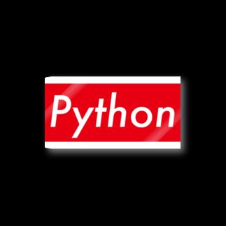 takumath.net officialのpython!! Stickers