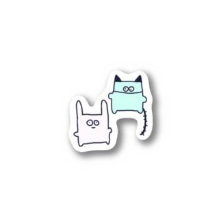 パリスとサンタ Stickers
