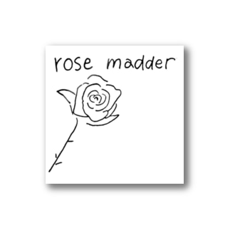 rose madder  Stickers