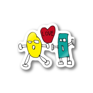 LOVEシリーズ Stickers
