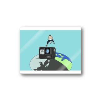 飛び出せ地球に Stickers