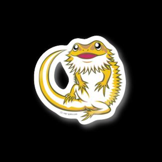 Dragon's Gateグッズのフトアゴステッカー(大) Stickers