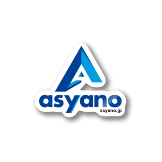 asyano.jpグッズ Stickers