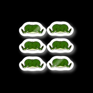 Dragon's Gateグッズのタピオカガエルのお尻コレクション Stickers