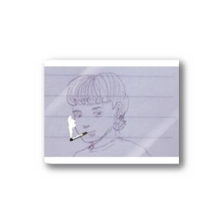 喫煙シティボーイ Stickers