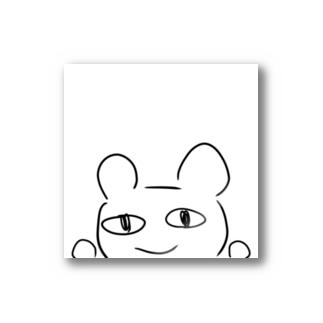 見つめるクマ熊くん Stickers
