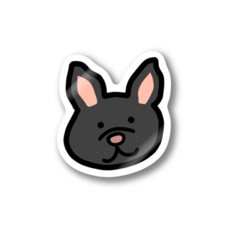 ふれぶるちゃん(黒) Stickers