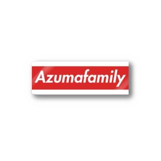 あづま家族 Stickers