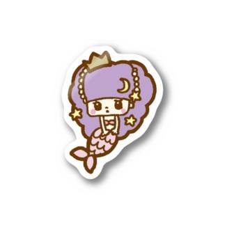 マーメイドちゃんステッカー Stickers