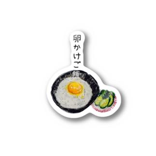 卵かけごはんちゃん Stickers