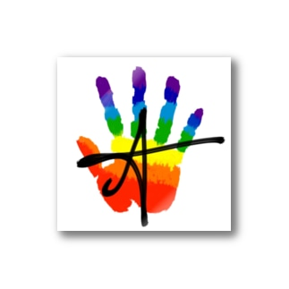 QUEER HAND Stickers