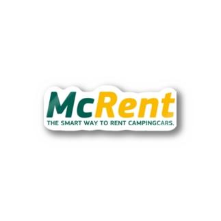 マクレント オリジナルグッズ Stickers