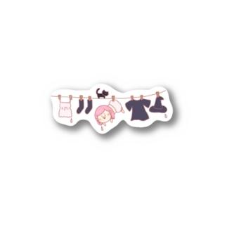 まじょっこ-sentaku- Stickers