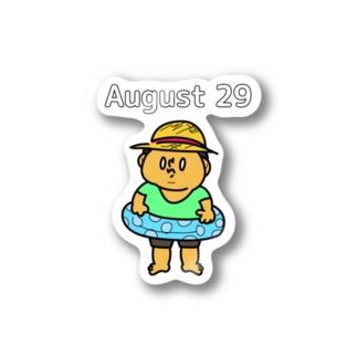 8月29日の気持ち Stickers