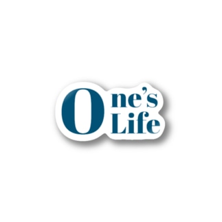 One's Life Stickers