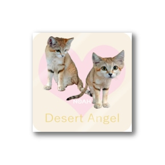 Desert Angel Stickers