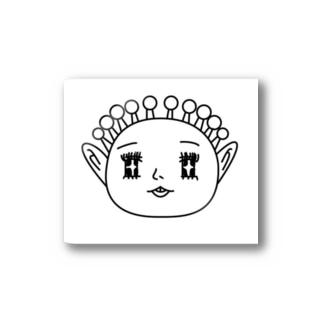 うちゅうじんくん Stickers