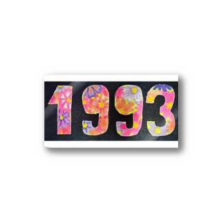 1993/9 Stickers