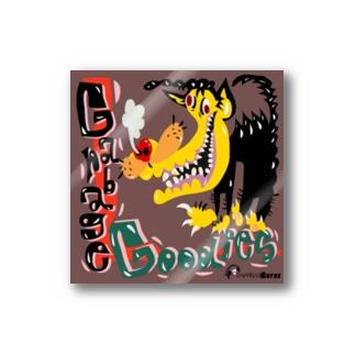 ブラックドッグ Stickers