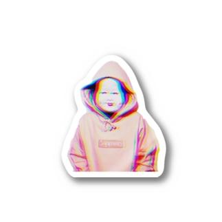 福男 Stickers