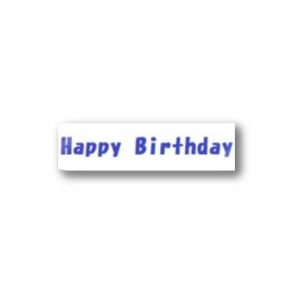 Happy Birthday グッズ Stickers