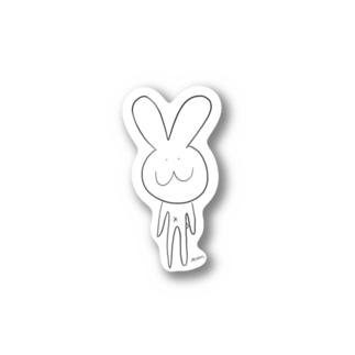 MoonのTうさぎ Stickers