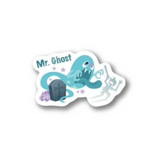 ミスターゴースト(カラー) Stickers