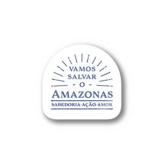 Vamos salvar o Amazonas_ステッカー Stickers