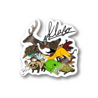 Toyooka Animals Stickers