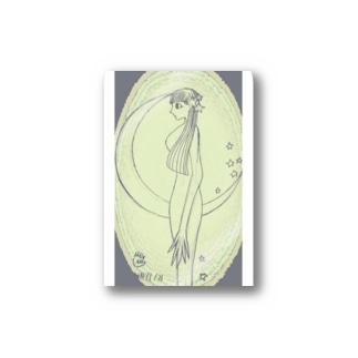 月の娘 Stickers