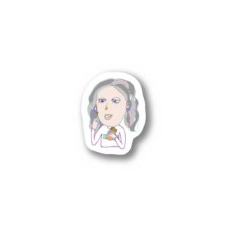 ポテト2 Stickers
